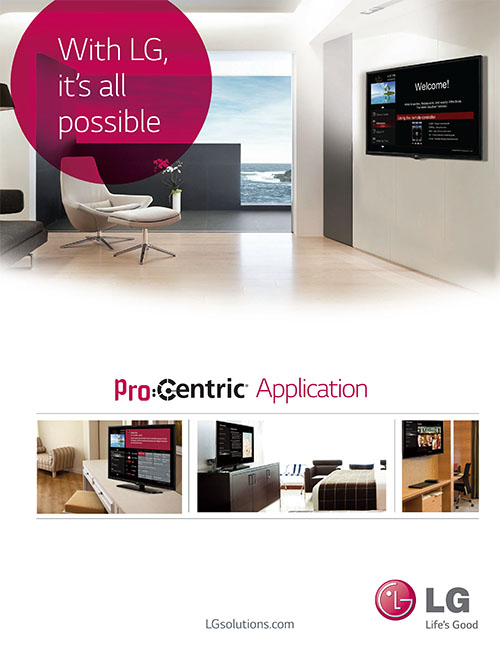 LG ProCentric in Dubai  LG's Pro:Centric content delivery system